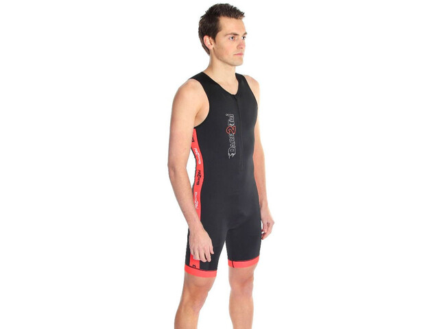 Dare2Tri Coldmax Strój triathlonowy Mężczyźni, black/red